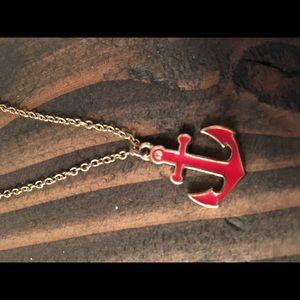 Last price drop Anchor necklace